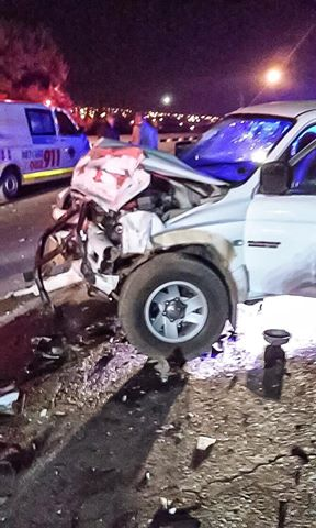 Pretoria Head-on crash leaves two injured