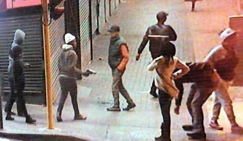 Unsuspecting robbers caught in the act by CCTV in Pretoria