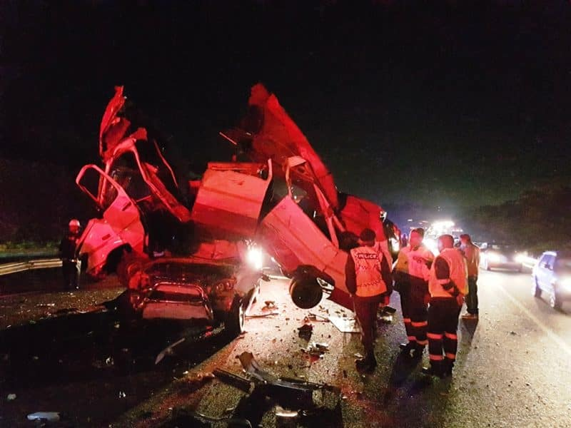Two dead in horrific crash