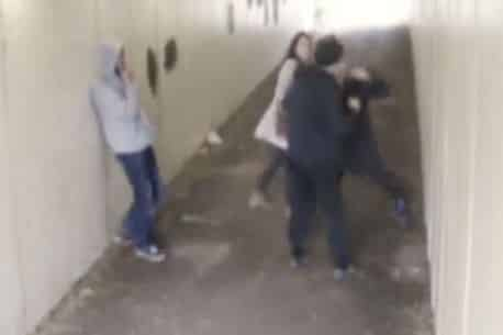 Video- Thugs pick on the wrong couple and lay dearly