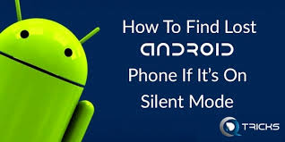 Find a phone on silent