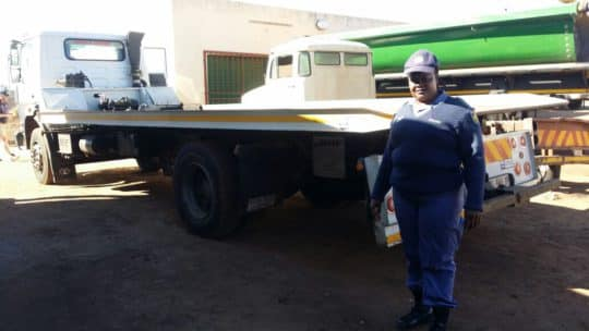 STOLEN TRUCK RECOVERED IN MPUMALANGA