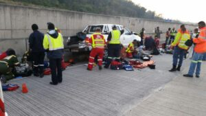 N3 closed to traffic after serious accident