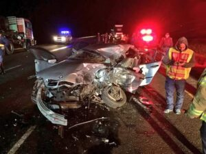 3 collisions, 5 trucks, 2 deaths on the N1 in 1 night