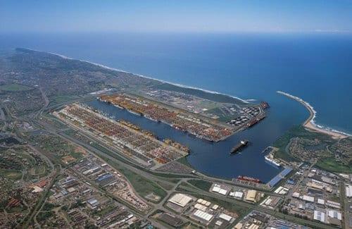Durban port roads in rehab
