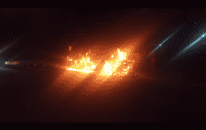 Two busses torched ahead of strike in Durban