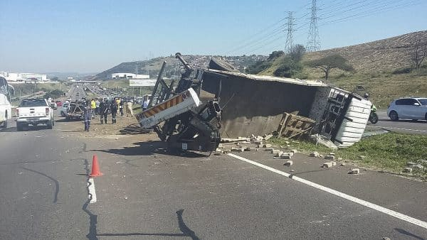 N2 TRUCK AND CAR COLLISION LEAVES 4 INJURED