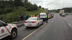 Seven injured in N3 accident, Pinetown