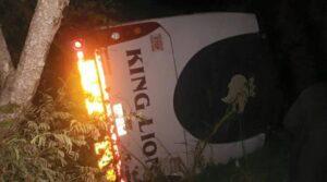 43 killed, 24 injured in Zimbabwe bus crash