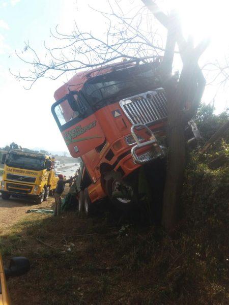 Truck crash Pietermaritzburg