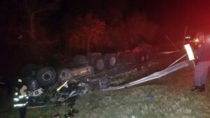 Truck driver killed after his truck overturns in Letsitele