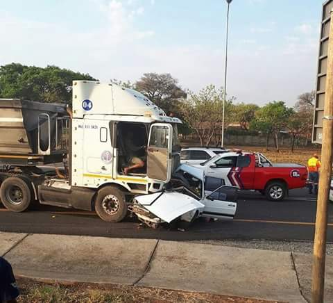 Two killed, another critical fatal N4 truck vs car crash