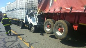 Truck driver killed after colliding with another truck in Henley-on-Klip
