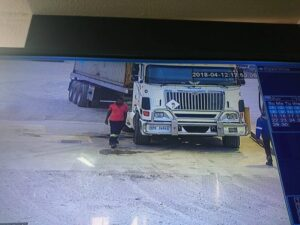 Driver allegedly sells trailer and load, flees the country