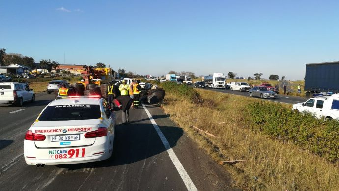 N3 camperdown truck crash
