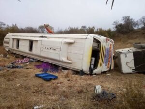Fatal Limpopo bus crash driver arrested while trying to flee for Zim