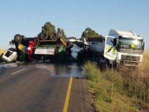 WATCH | Dashcam footage of fatal Bethal trucks crash