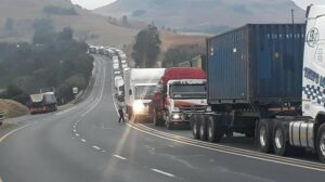 South African truck drivers risk lives everyday to bring your supplies in time