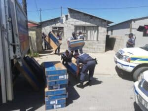 50 flat screen TVs stolen from hijacked truck recovered in Cape Town
