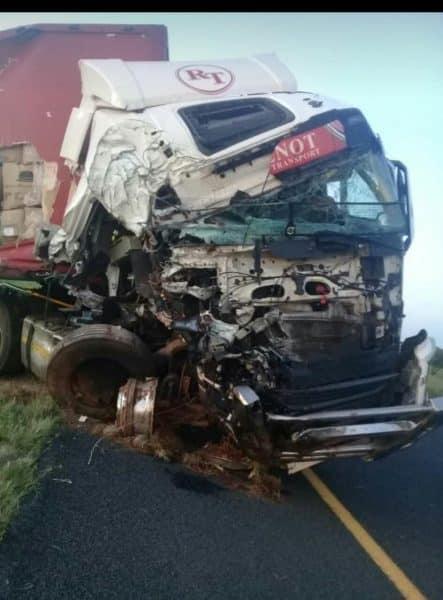 N1 crash between bloemfontein and edernburg