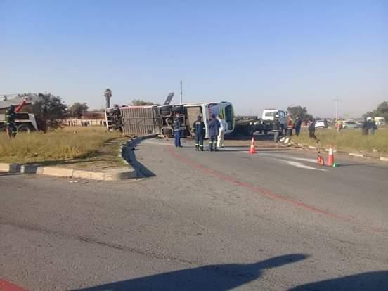 Driver allegedly kills himself after fatal Welkom Intercape bus crash