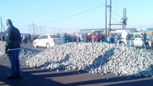 Watch | Trucks blocked, keys taken in anti-foreign driver protest at Ermelo