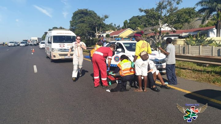 truck driver and assistant shot on N2