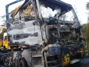 Manline tanker driver shot, truck torched near Pietermaritzburg