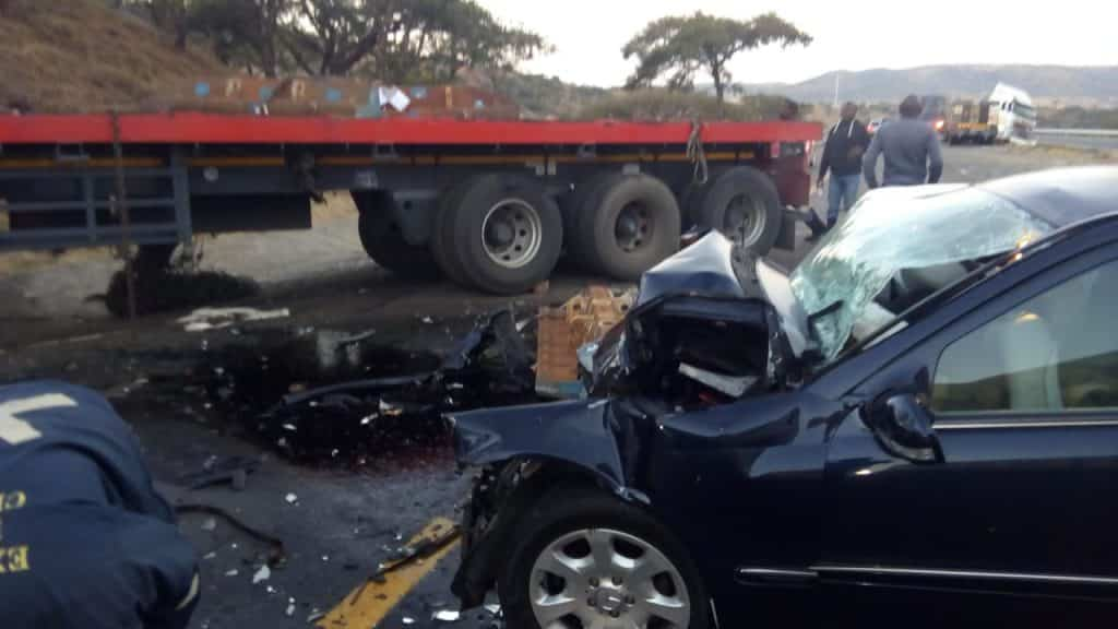 Look | Three killed in N3 crash near Tugela Toll
