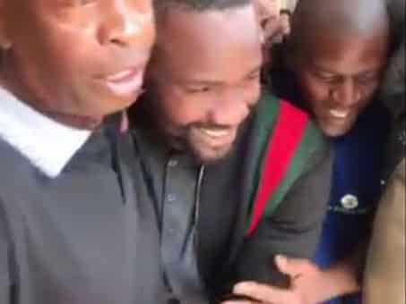 Watch: Hero's welcome for Sam 'Mshengu' Chabalala