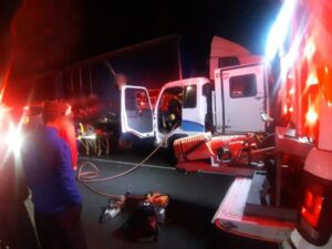 Driver freed using Jaws of Life after crash in Durban
