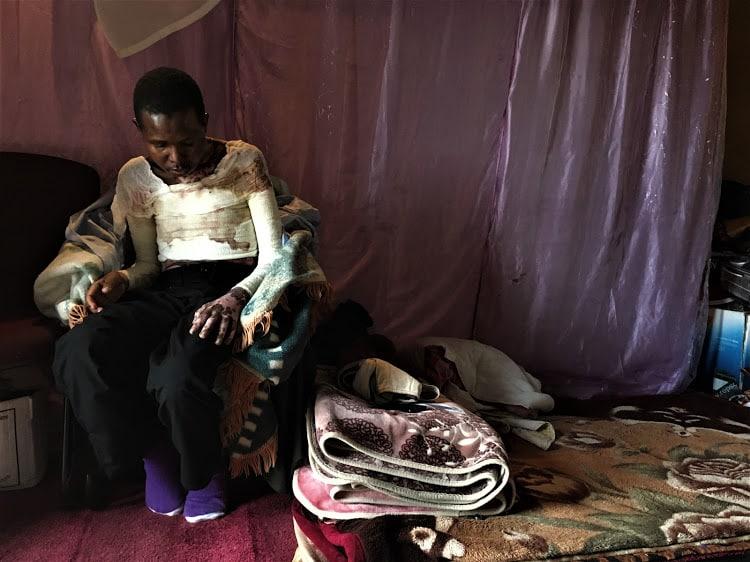 ronias tawengwa victim of truck violence in sa
