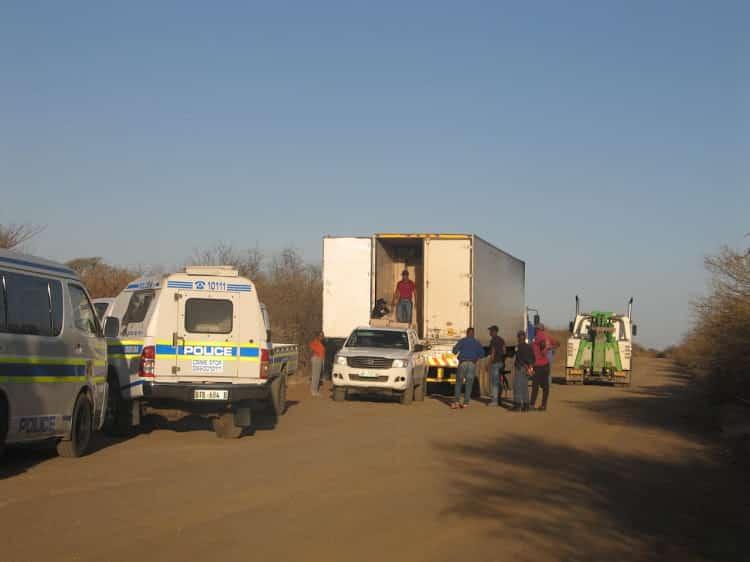 truck driver smuggling cigerattes