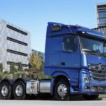 Mercedes-Benz releases new Actros with cameras replacing mirrors