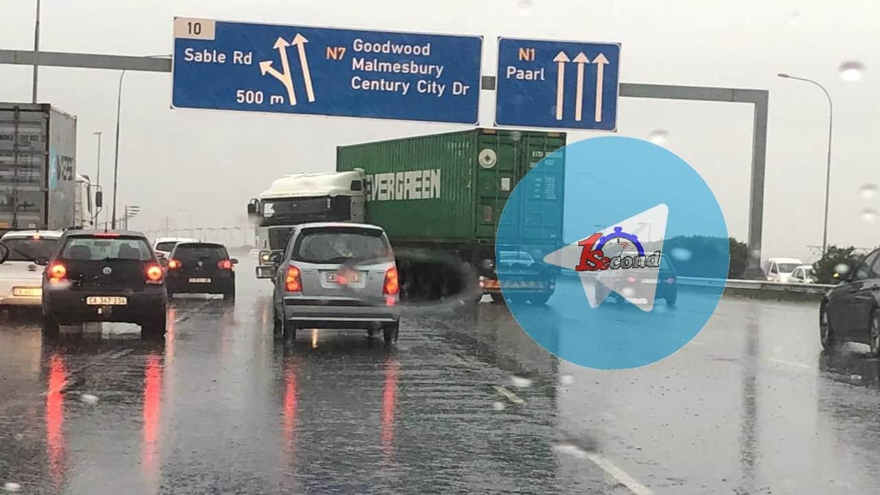 cape town rain causes flooding
