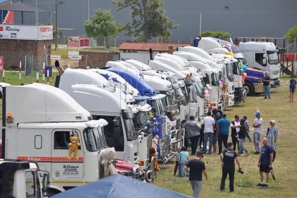 killarney truckers' charity run