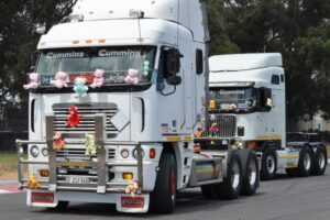 Look: Colourful truckers charity convoy rolls into Killarney