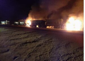 6 trucks torched in Mpumalanga, suspects still at large