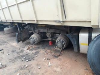 What to do under attack from tyre robbers