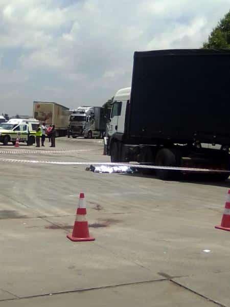 truck driver killed
