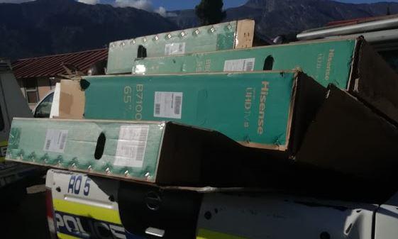 de doorns looting tvs recovered