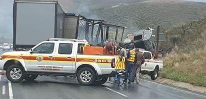 swellendam fatal truck crash