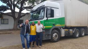 Owner and founder of FP Du Toit Transport has died
