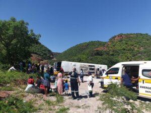 Two killed, 22 injured in Mpumalanga bus crash