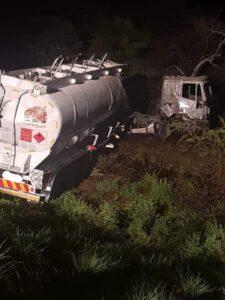Watch: Four feared dead in N1 tanker and bakkie crash