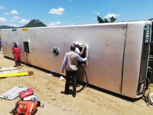 Six dead including driver as ANC supporters bus crashes in Limpopo