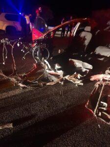 Update: Death toll in N1 petrol tanker and car crash rises to five