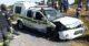 hijacking victim rams into police van