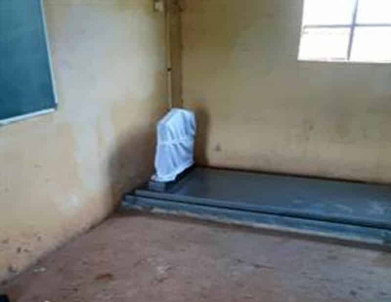 KZN family in dispute with school, lays tombstone in class