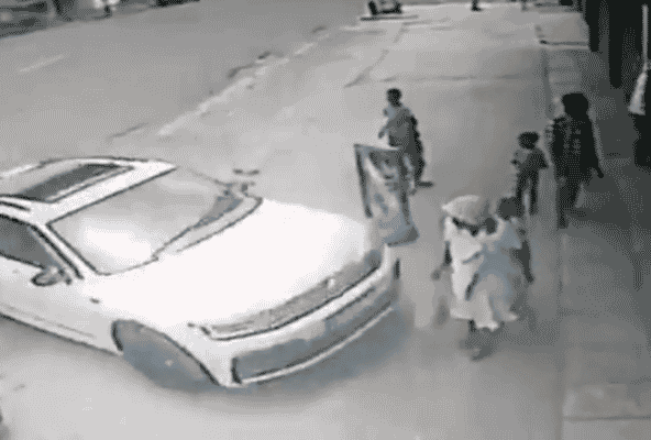 Watch: Two arrested for viral Ventersburg hit and run video